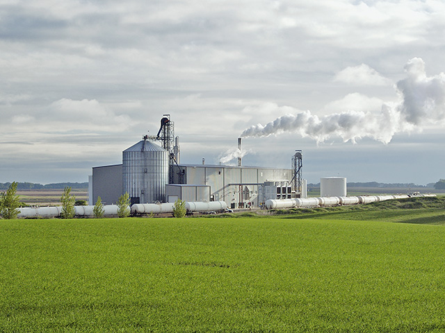 A new CoBank analysis said ethanol producers will continue to see struggling profit margins for the remainder of 2019. (DTN/Progressive Farmer photo by Getty Images)