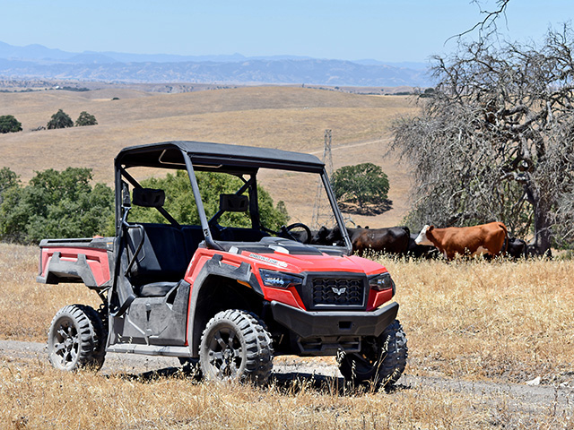 Textron Off Road checked the durability of the Prowler Pro series with more than 1,000 hours of testing, Image by Chris Hill