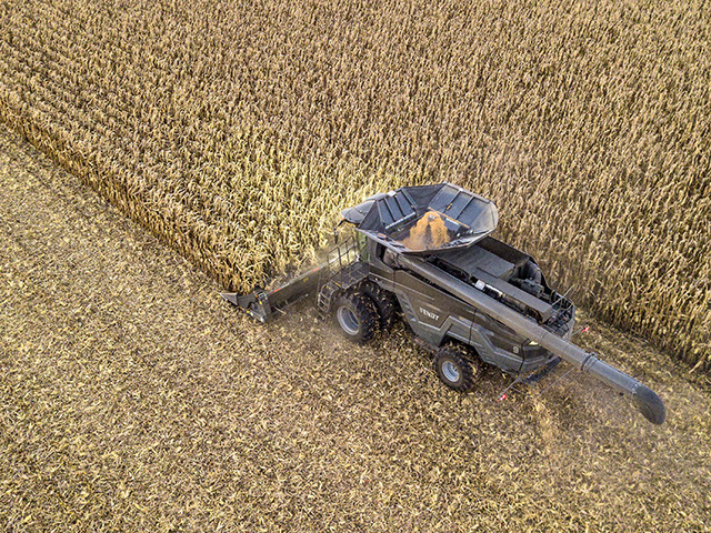 Fendt IDEAL combine, Image provided by the manufacturer