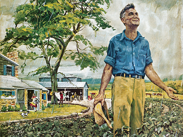 The Progressive Farmer is featuring photos this year from its vast archives. This illustration was featured on the August 1962 cover, Image by The Progressive Farmer Archives