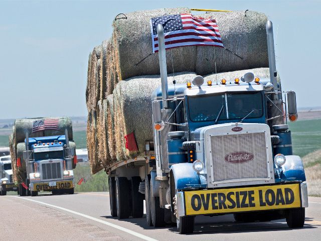Rural America has always had a big heart. Hay convoys such as those put together by the group called Ashes to Ashes have become a symbol of what volunteering can mean in times of crisis. (DTN/Progressive Farmer photo by Joel Reichenberger)