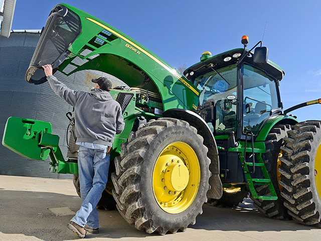 As lenders make on-site visits, many emphasize in their assessment how well equipment is being maintained. (DTN/Progressive Farmer photo by Jim Patrico)