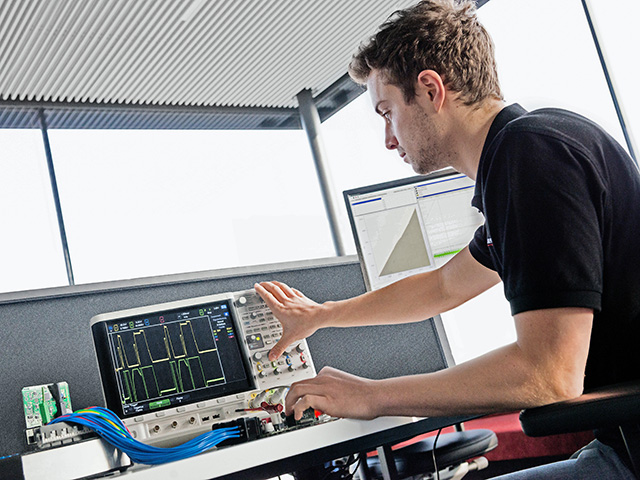 Steinbauer Performance modules undergo thorough testing in development with technicians to study the variation of fuel injection pulses coming from the engine's control module (ECM). (Progressive Farmer image Courtesy of Steinbauer Performance)