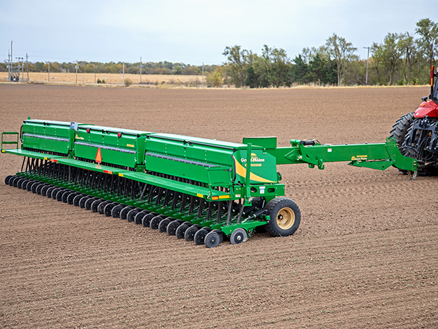 Great Plains Min-Till Box Drill (Progressive Farmer image supplied by Great Plains)