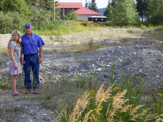 Michael and Chantell Sackett have fought the EPA in court for years, concerning a 2008 wetland determination on their Priest Lake, Idaho, property. (Photo courtesy of the Pacific Legal Foundation)