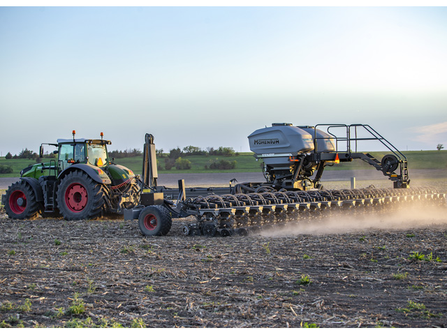 AGCO's high hopes for its Fendt tractor and Momentum planter combo has run head on into COVID-19. (Photo courtesy of AGCO)
