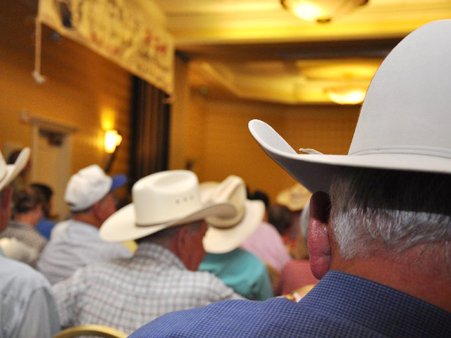 Cattlemen's meetings help spark enthusiasm for the upcoming year, as well as give cattlemen a place to voice their opinions about industry matters. (DTN file photo by Chris Clayton)