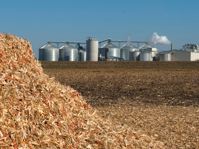 During the past 18 months, more than 20 ethanol plants have stopped production while many others have scaled back production, in response to struggling profit margins. (DTN/Progressive Farmer file photo)