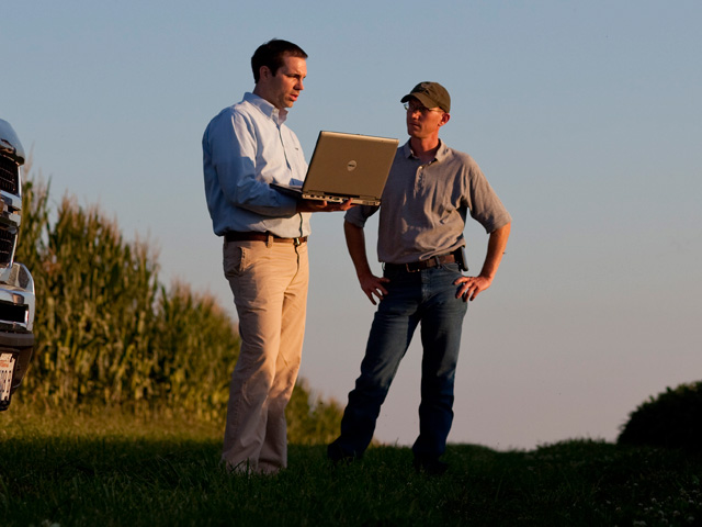 Farmers using newer technologies need faster upload speeds as they attempt to upload data from the field and use telematics. (DTN/The Progressive Farmer file photo)