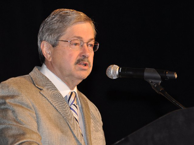 Iowa Gov. Terry Branstad was approved by the U.S. Senate as the next ambassador to China. (Photo by Chris Clayton)