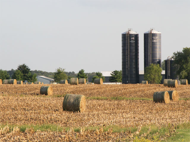 Looking for ways to make baling cornstalks more efficient turns into a on-farm experiment for our consulting agronomist. (DTN photo by Pamela Smith)