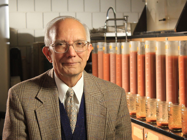Rattan Lal, a soil scientist at Ohio State University, was named the 2020 World Food Prize laureate on Thursday (Photo courtesy of Ohio State University)
