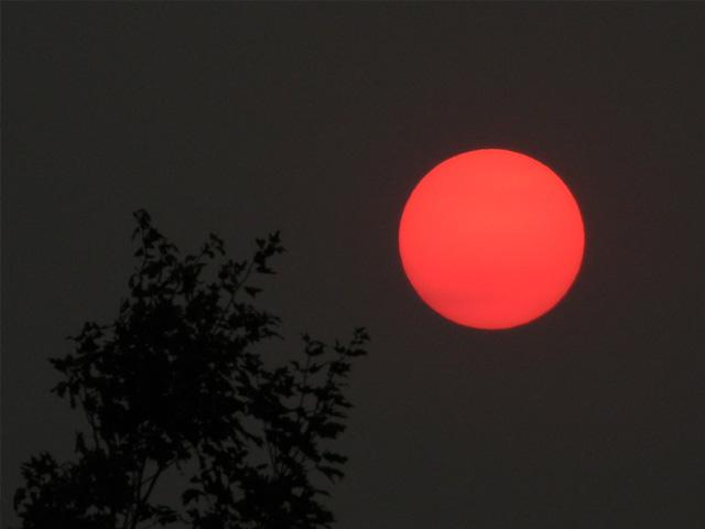 Hazardous air quality due to wildfire smoke is one of many ecological system effects from larger and stronger drought. (DTN photo by Mary Kennedy)