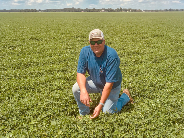 Florida peanut farmer Ryan Jenkins wants consumers to understand the complexities of farming and likes to find educational ways to talk about the crop. (Photo courtesy of Ryan Jenkins)