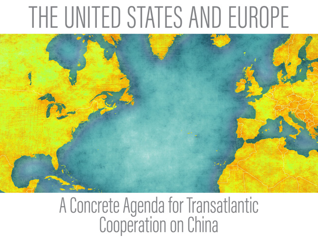 A report issued by Republicans on the Senate Foreign Relations Committee details growing challenges with China's global influence on trade and the economy. The report emphasizes the best counterbalance for the U.S. is to better its relationship with the European Union. (Image from Senate Foreign Relations Committee report)