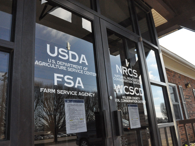 USDA on Wednesday announced it will temporarily suspend past-due debt collection and foreclosures for distressed farmer-borrowers under its Farm Storage Facility Loan and its Direct Farm Loan programs run by the Farm Service Agency. The move aids more than 12,000 farmers with delinquent loans at FSA. (DTN file photo)